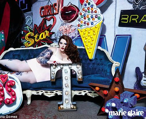 Plus Size Model Tess Holliday Is Making It Big