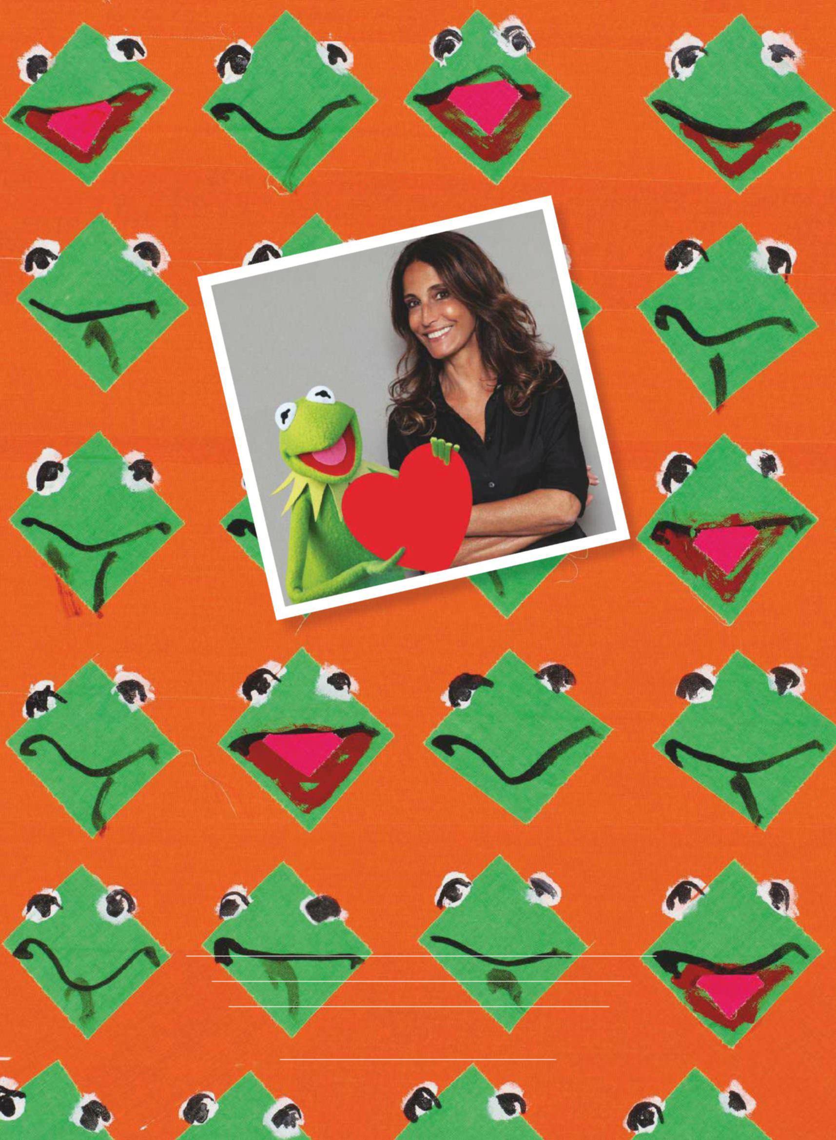 French Sandro's Evelyne Chetrite&Kermit The FrogFabulous