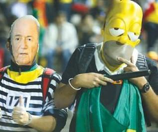 FIFA's Falling Apart - And You Think The Fans Give A Damn?