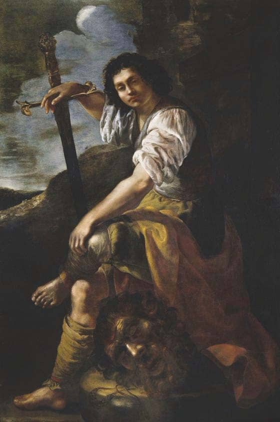 My favourite painting Simon Gillespie - David with the Head of Goliath by Artemisia Gentileschi