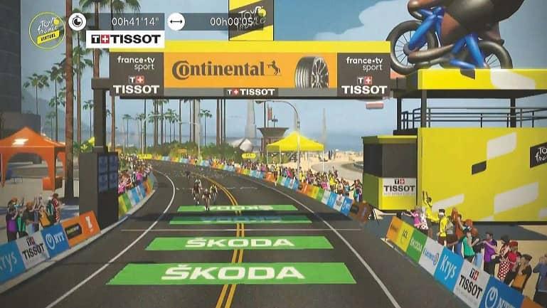 Virtual Tour de France provides clues to key riders' form