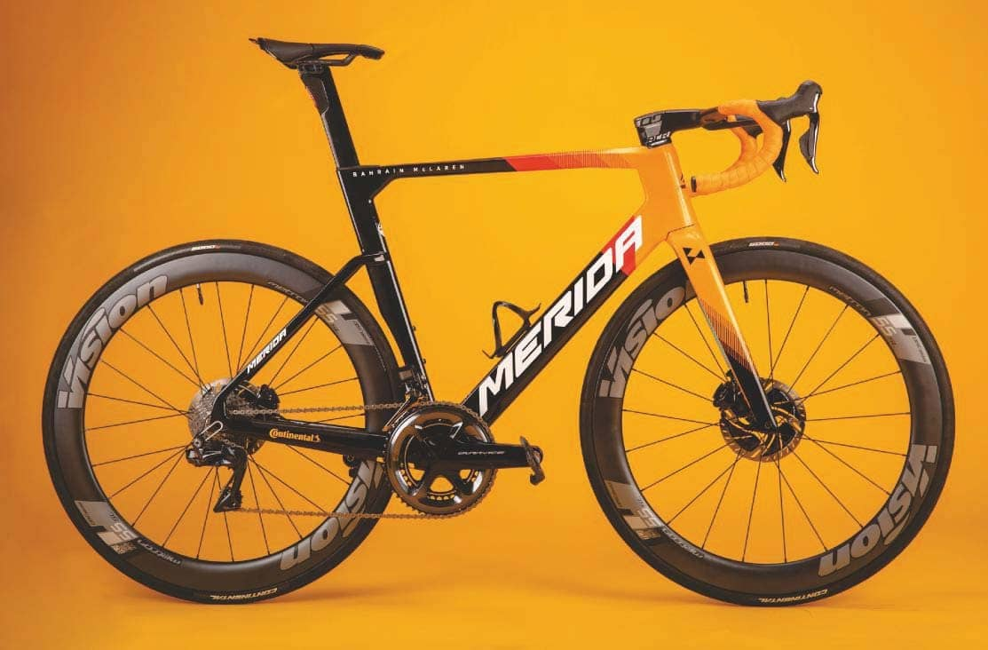 Merida builds more compliance into its rocketship aero Reacto