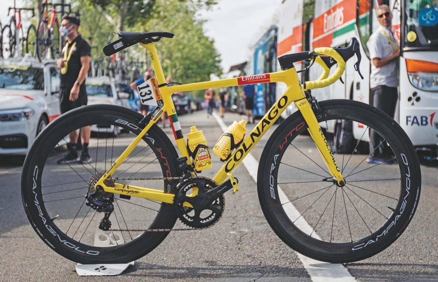 Tadej Pogacar's: Tour de France winning Colnago V3RS