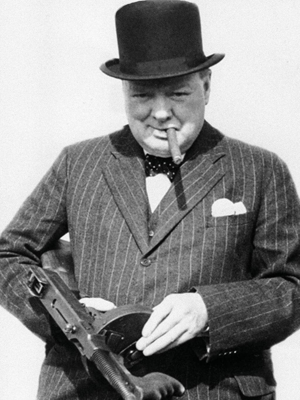 The personal armoury of Sir Winston Churchill