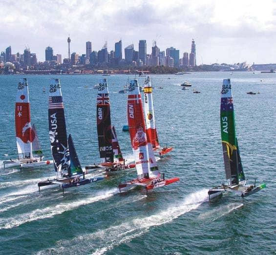 SailGP will restart in 2021