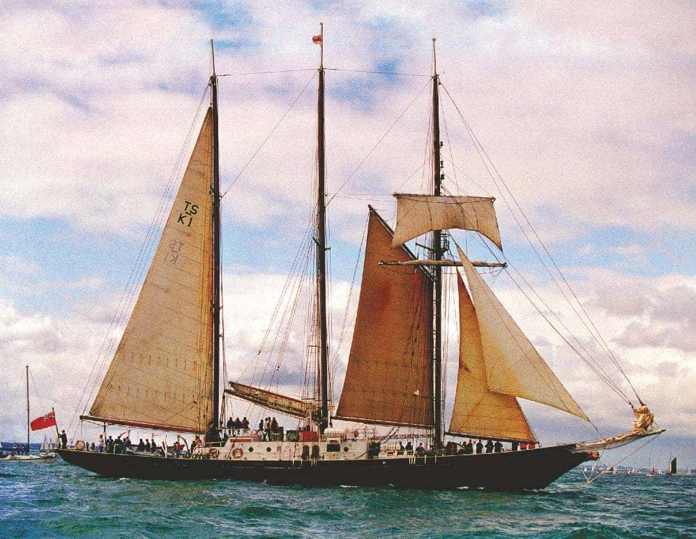 Tales from a tall ship