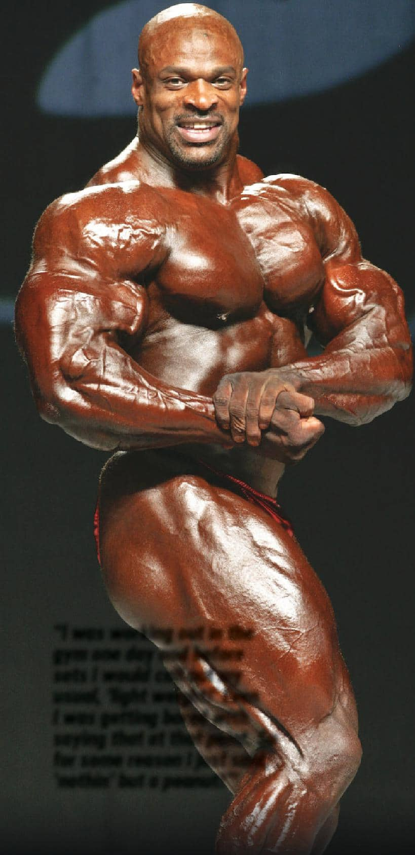 Ronnie Coleman, Eight-Time Mr. Olympia