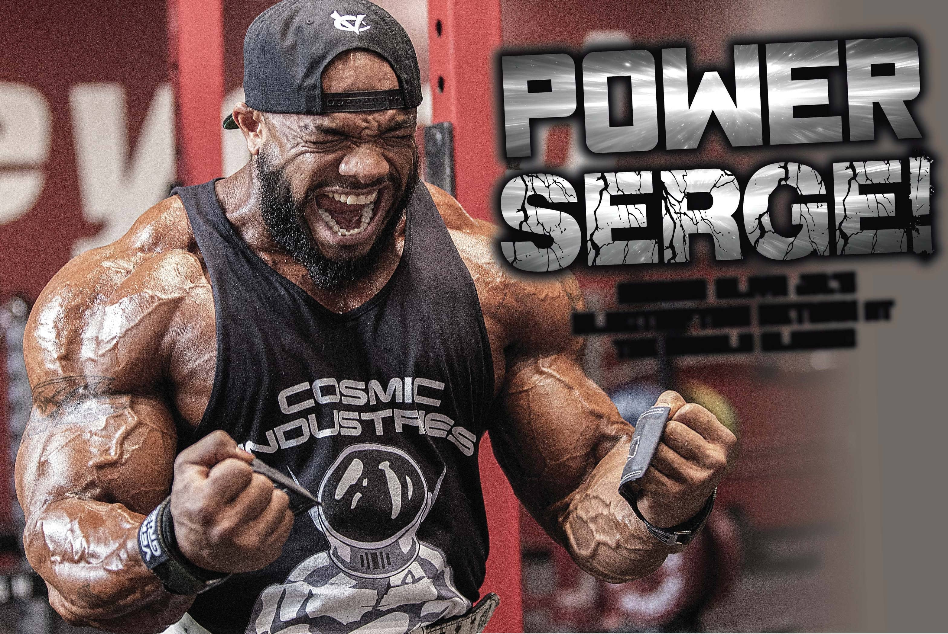 POWER SERGE!
