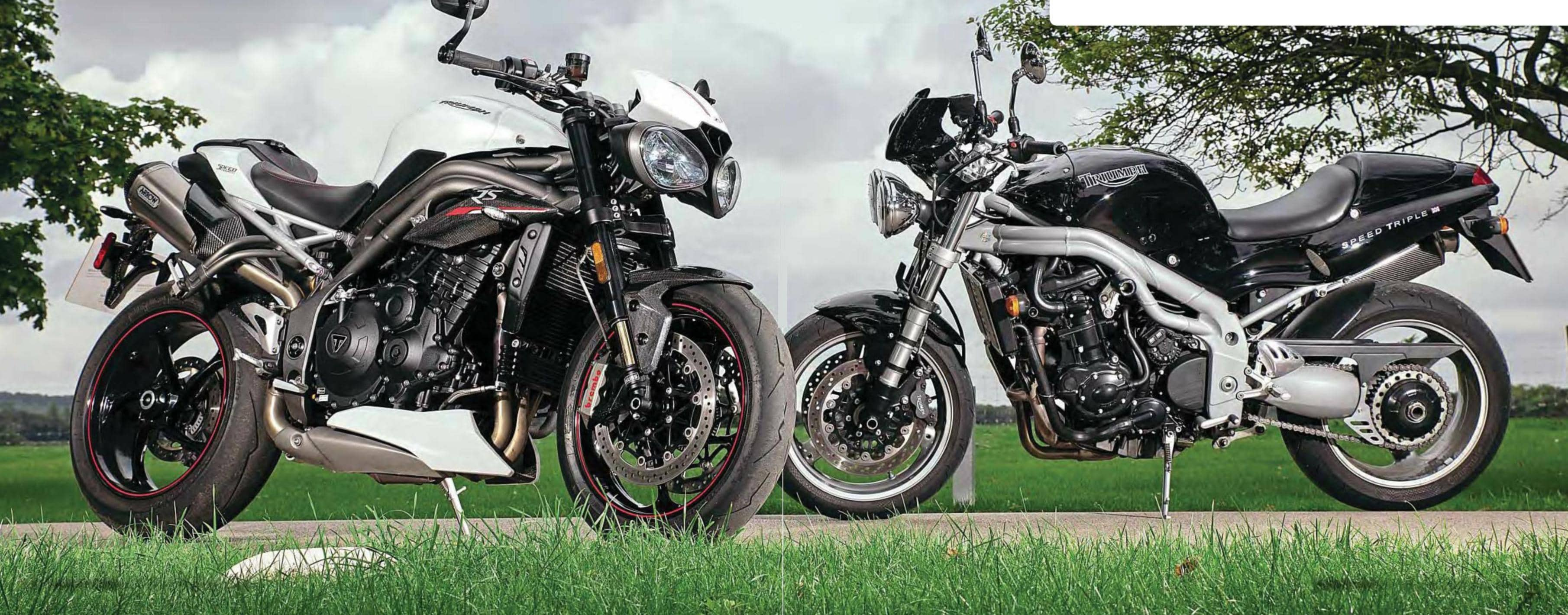 TRIUMPH SPEED TRIPLE THEN AND NOW