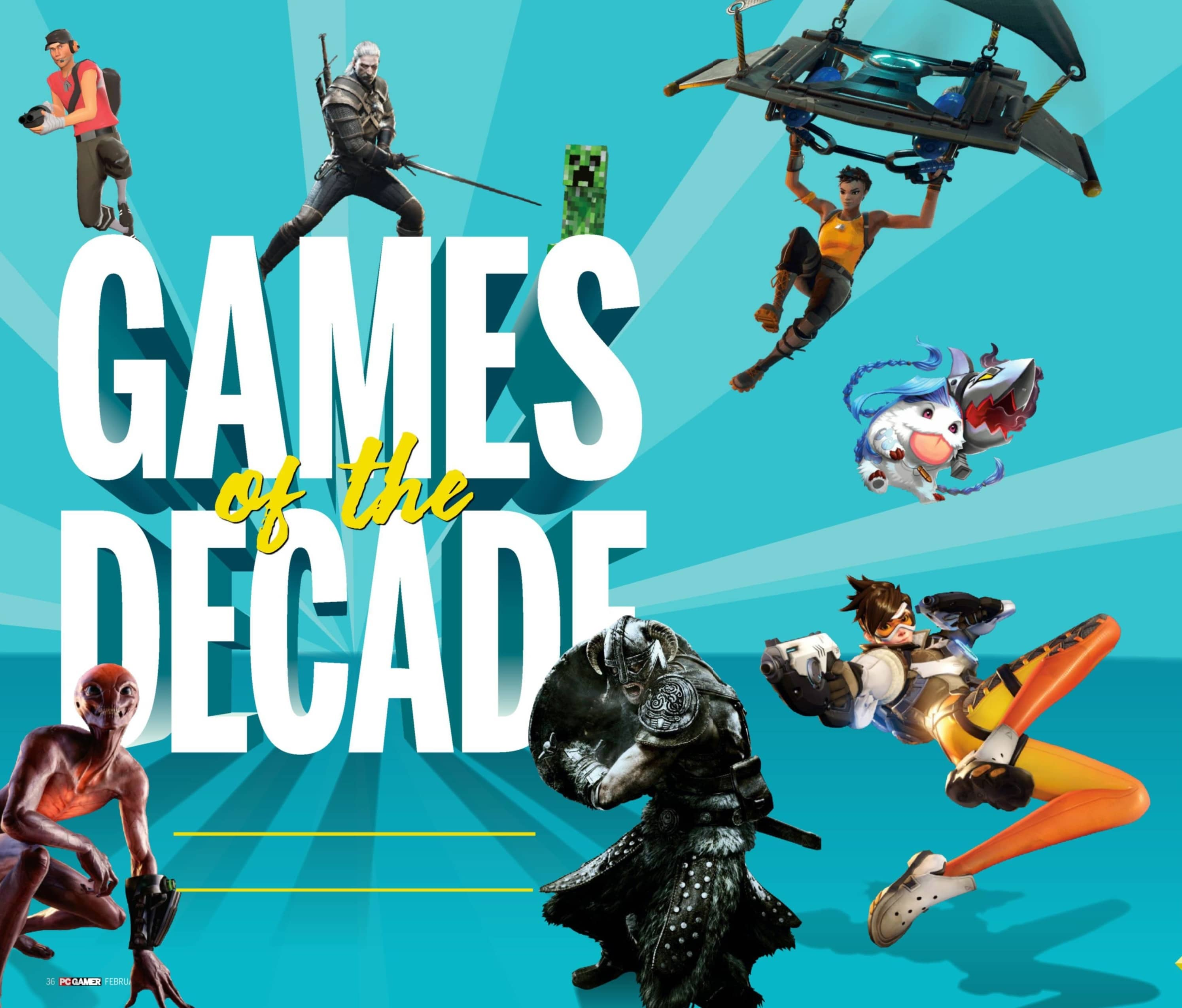 GAMES of the DECADE