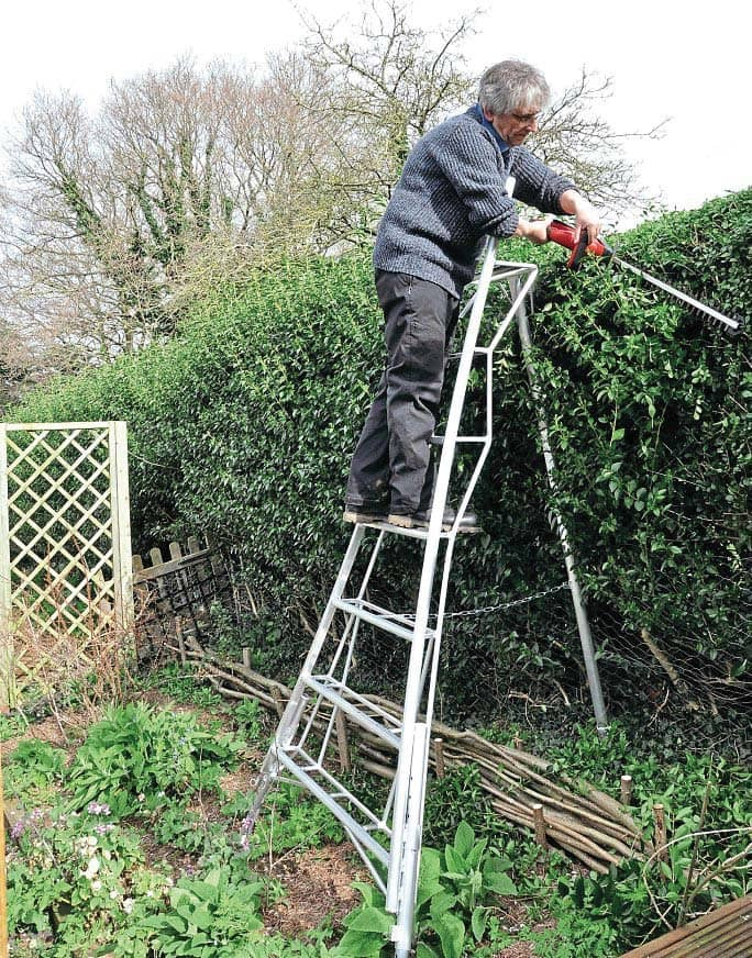 ONE TO TRY GARDEN LADDERS