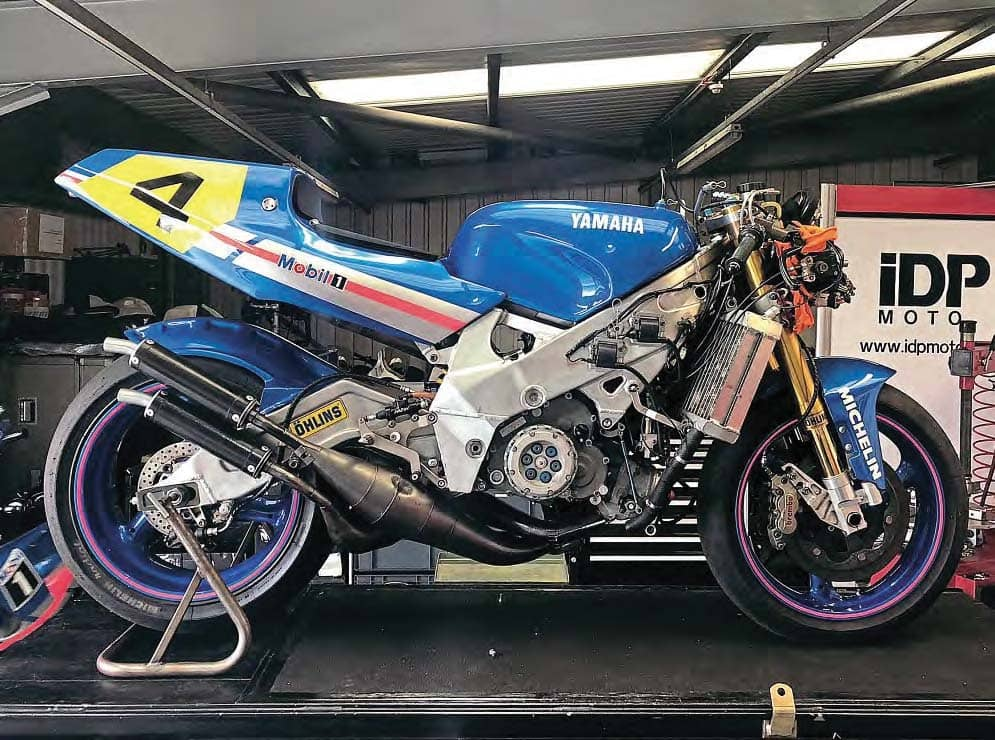 Project Yamaha YZR500 part 2- Master Blaster!