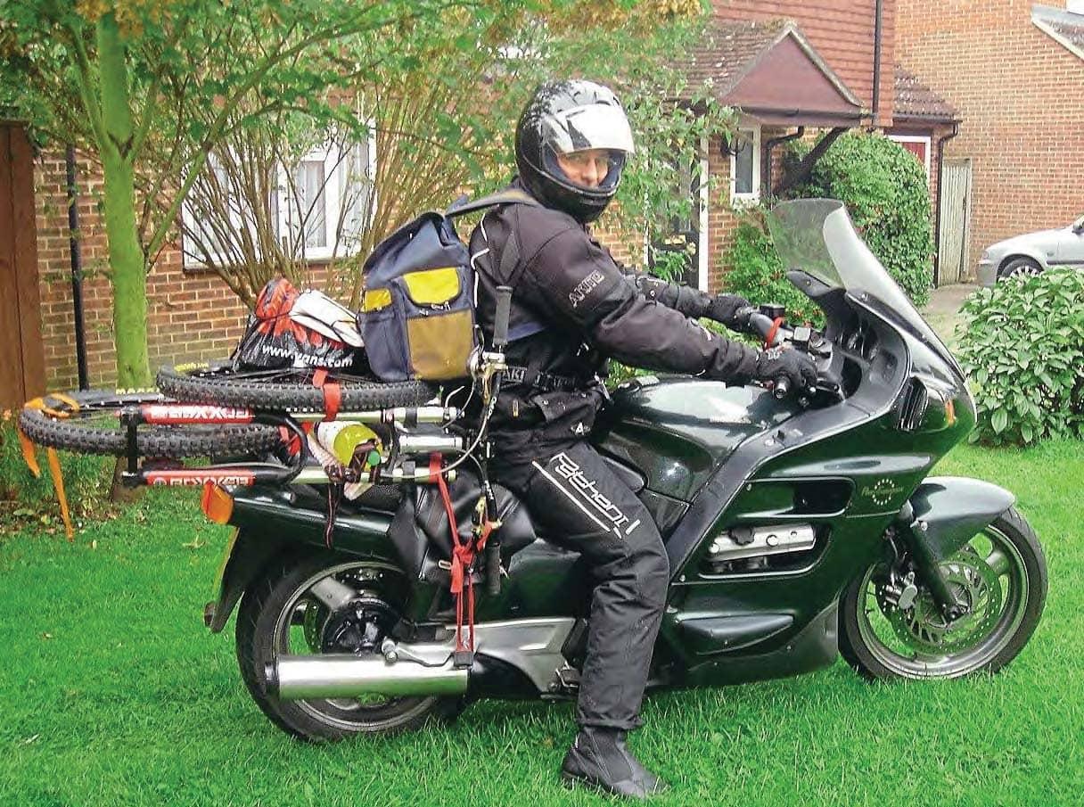 Honda ST1100 Pan European part 2- Squeaking Pan