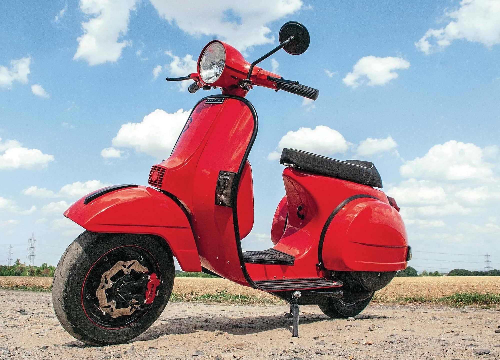 Vespa Twin: Doing The Boxer Beat