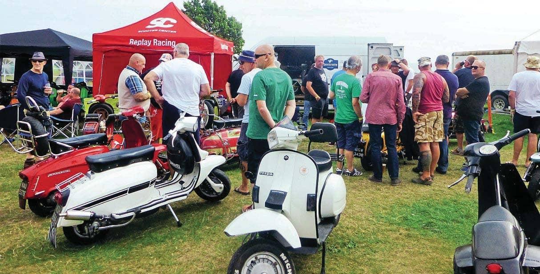 Mersea Island Scooter Rally 2019