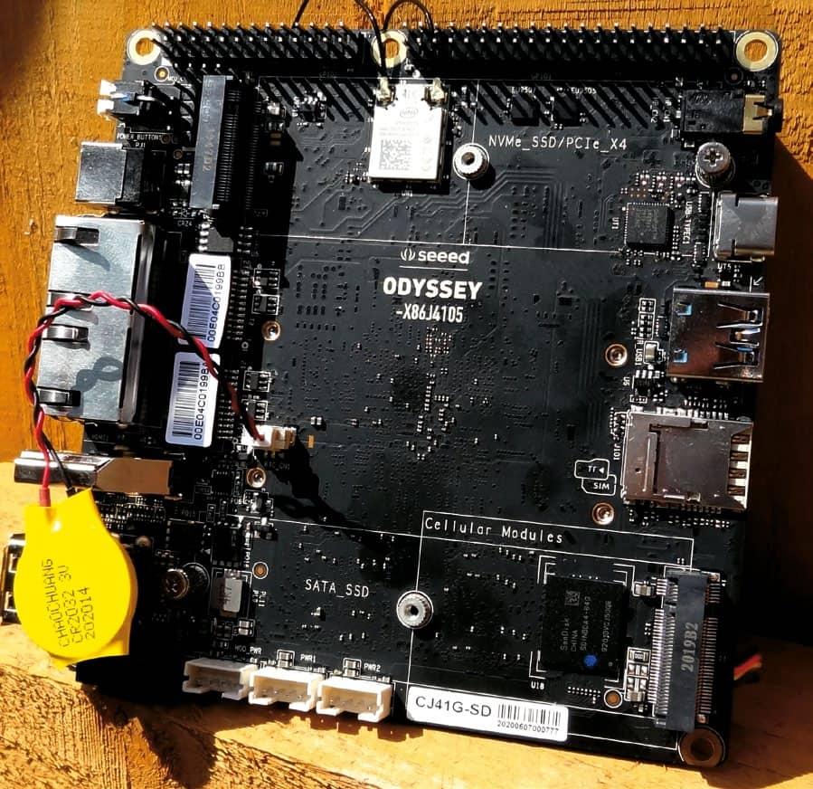 Seeed Odyssey X86J4105