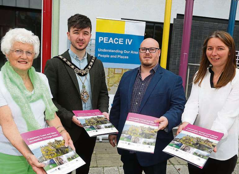 Dungiven Charity Helps Produce Accessible Heritage Guide