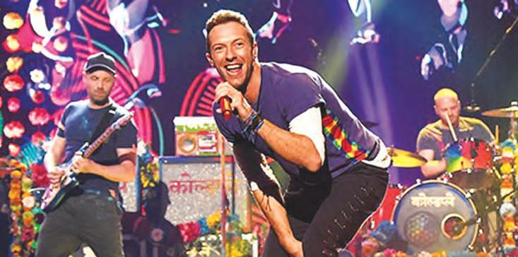 When Coldplay Was In Town