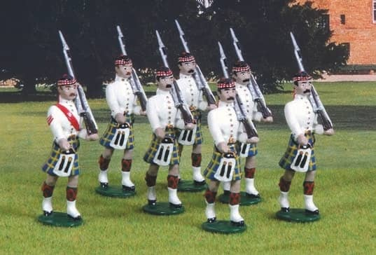 "Uniforms of the ""Highland Laddies"" foreign service"