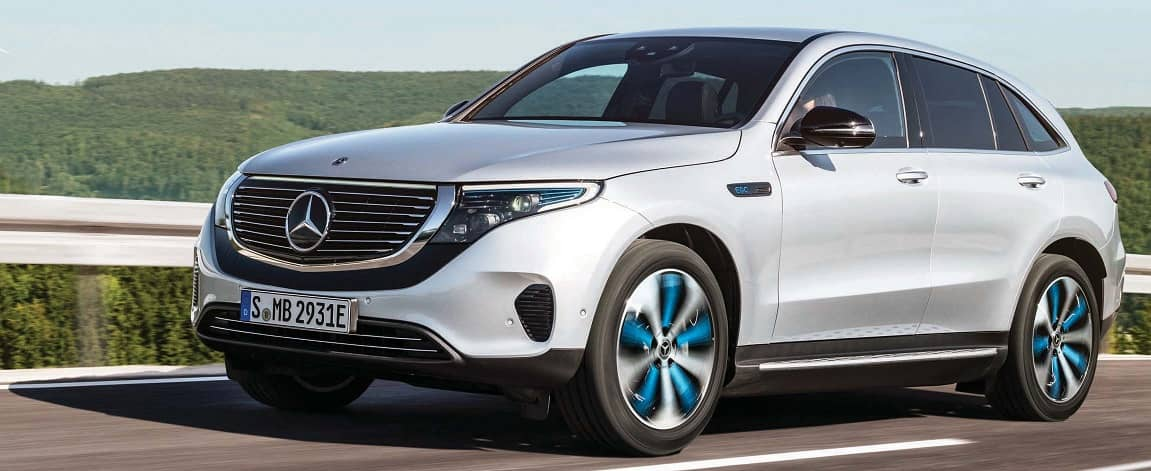 An All-Electric Mercedes-Benz SUV