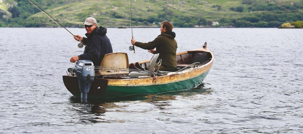 Lough Currane flyfishing