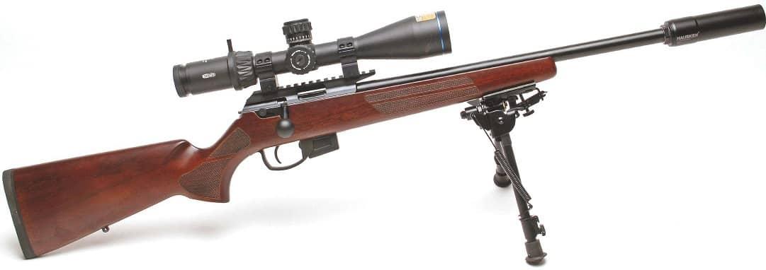 RIFLE TEST -Anschütz Model 1761 .22 rimfire  £1,295