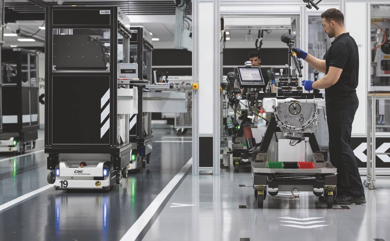 One Man, One Engine: Inside An Almost-sterile Assembly Line