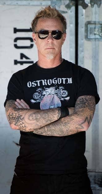 James Hetfield's Frontman, Metallica