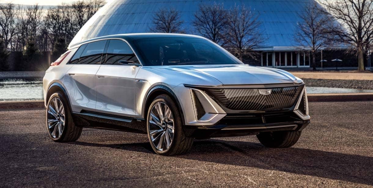 2023 Cadillac Lyriq concept