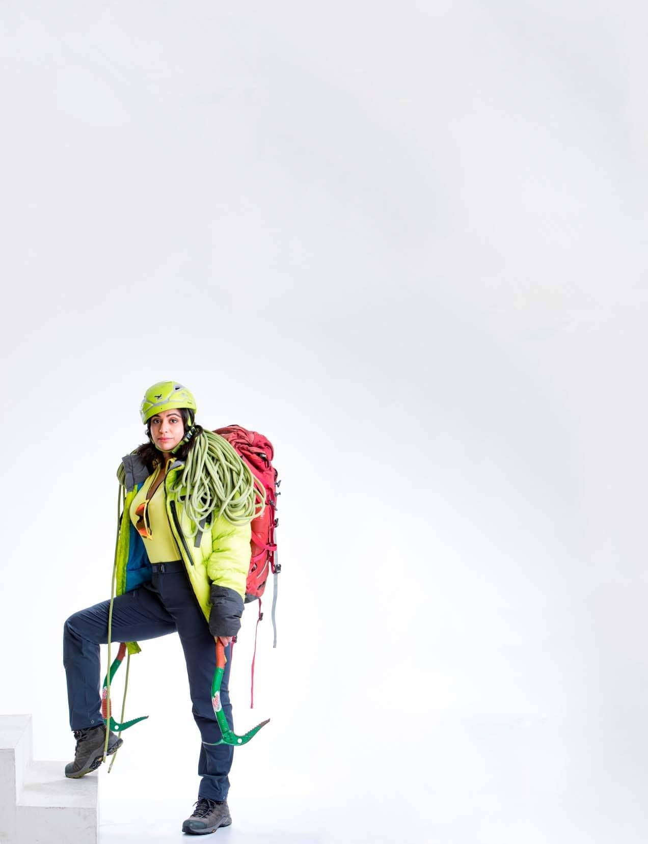 CLIMBING HIGH - Mountaineer Kamal Kaur Recounts Her Experiences