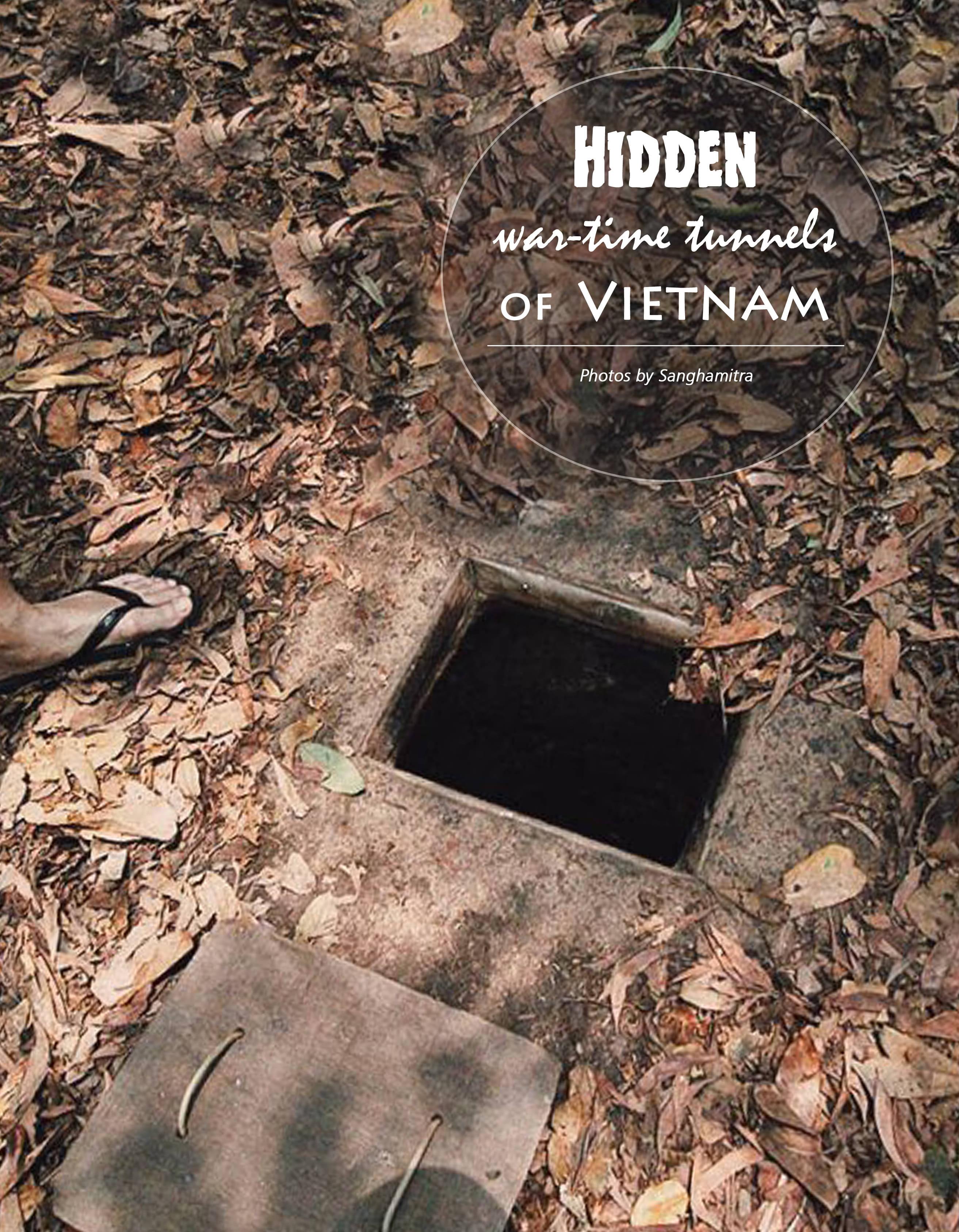 HIDDEN war-time tunnels OF VIETNAM