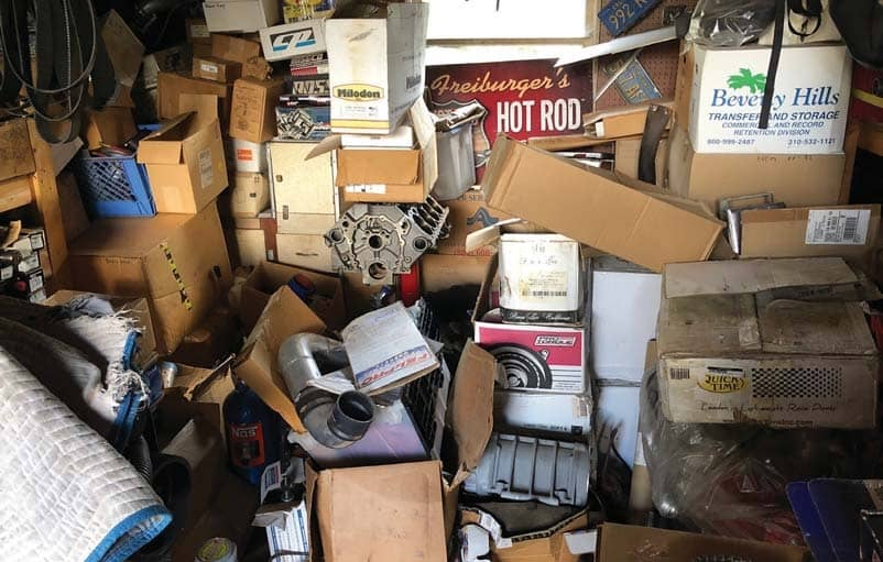 The Great Garage Clean Out
