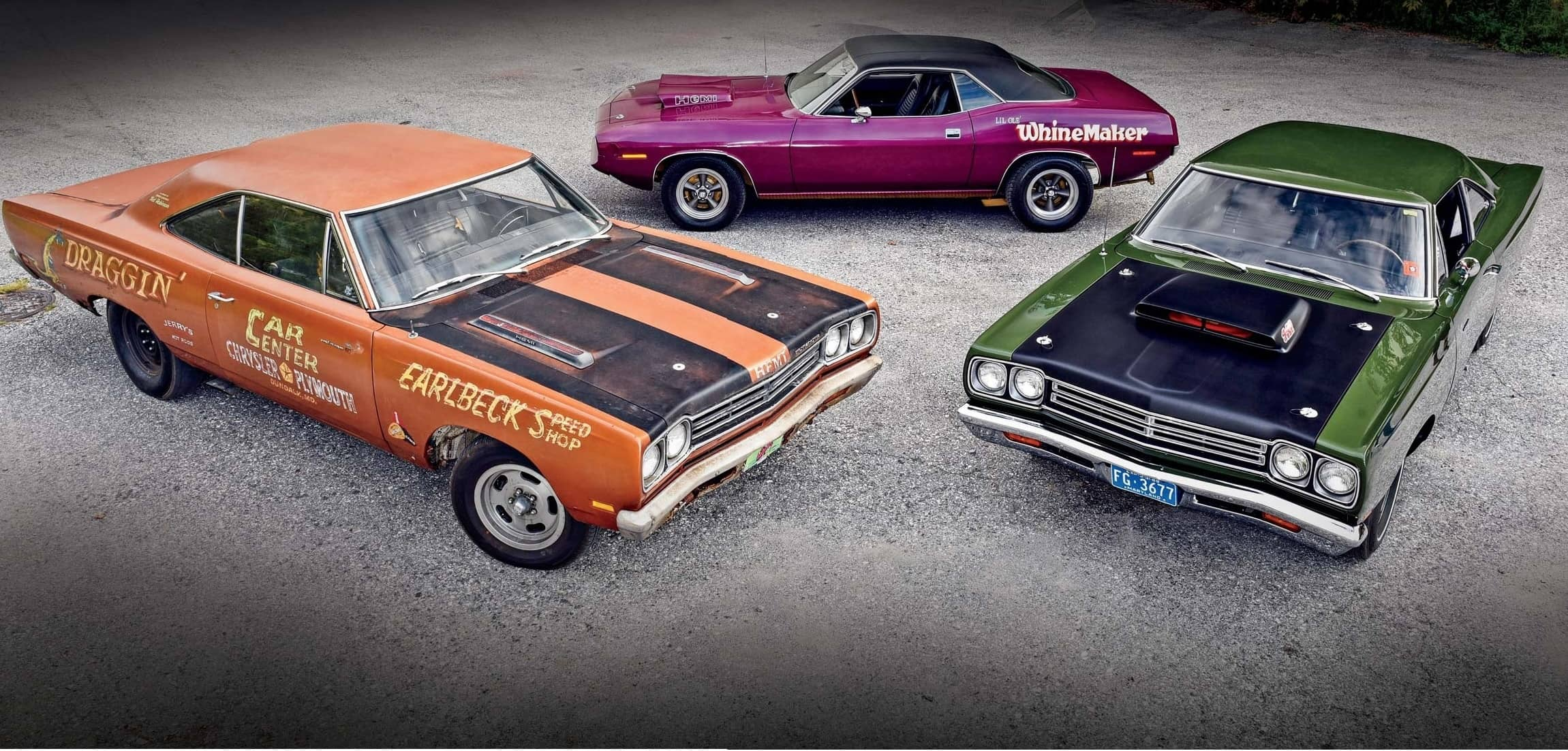 Three Mopar Survivor Cars Back on the Road: Two Have Hemis the Other is a 6BBL!