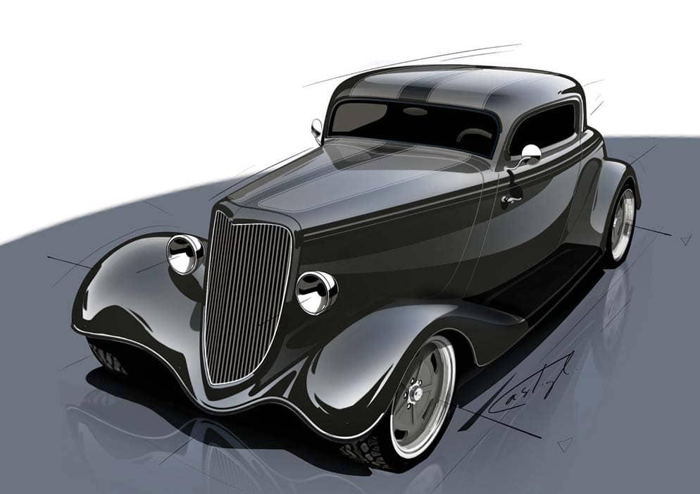 The Lokar/Street Rodder Road Tour '34 Ford