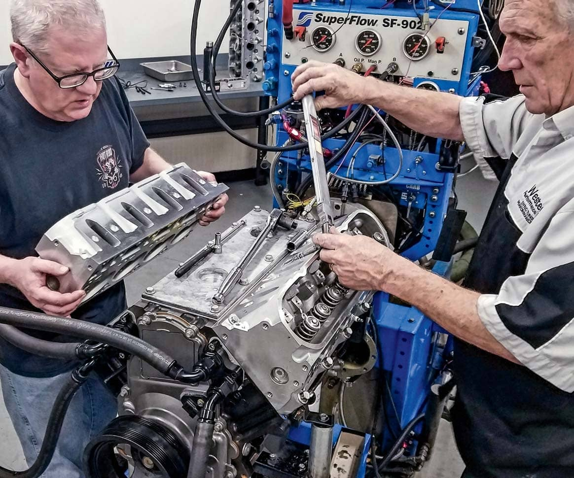 LS CYLINDER HEADS: SHOOTOUT AND CAM TEST