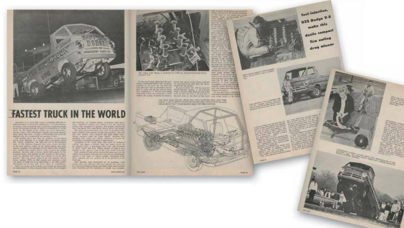 "Bill ""Maverick"" Golden's wheel standing Dodge A100 borrows off-road tricks on the track"