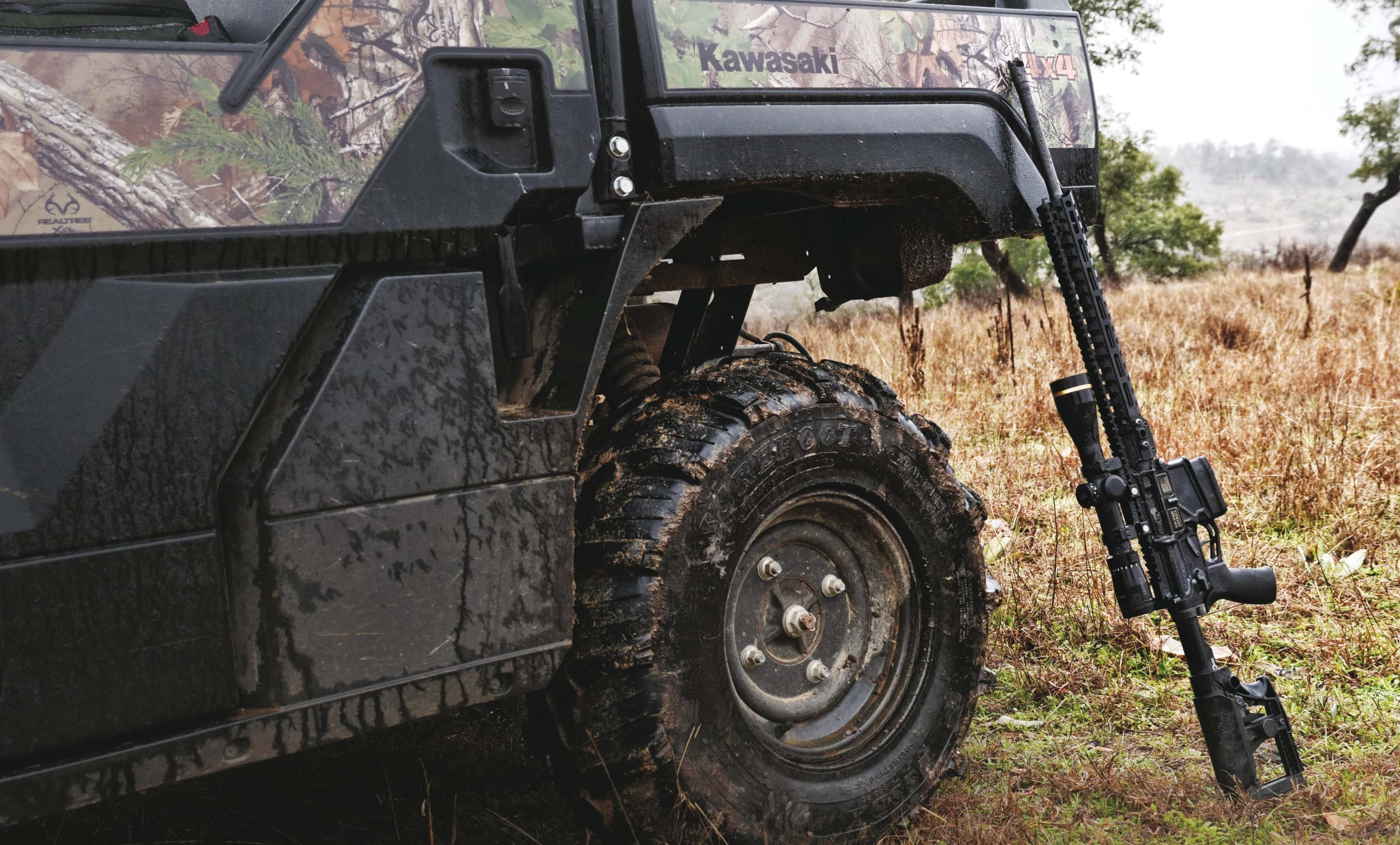 HUNTING WITH AMERICA'S RIFLE