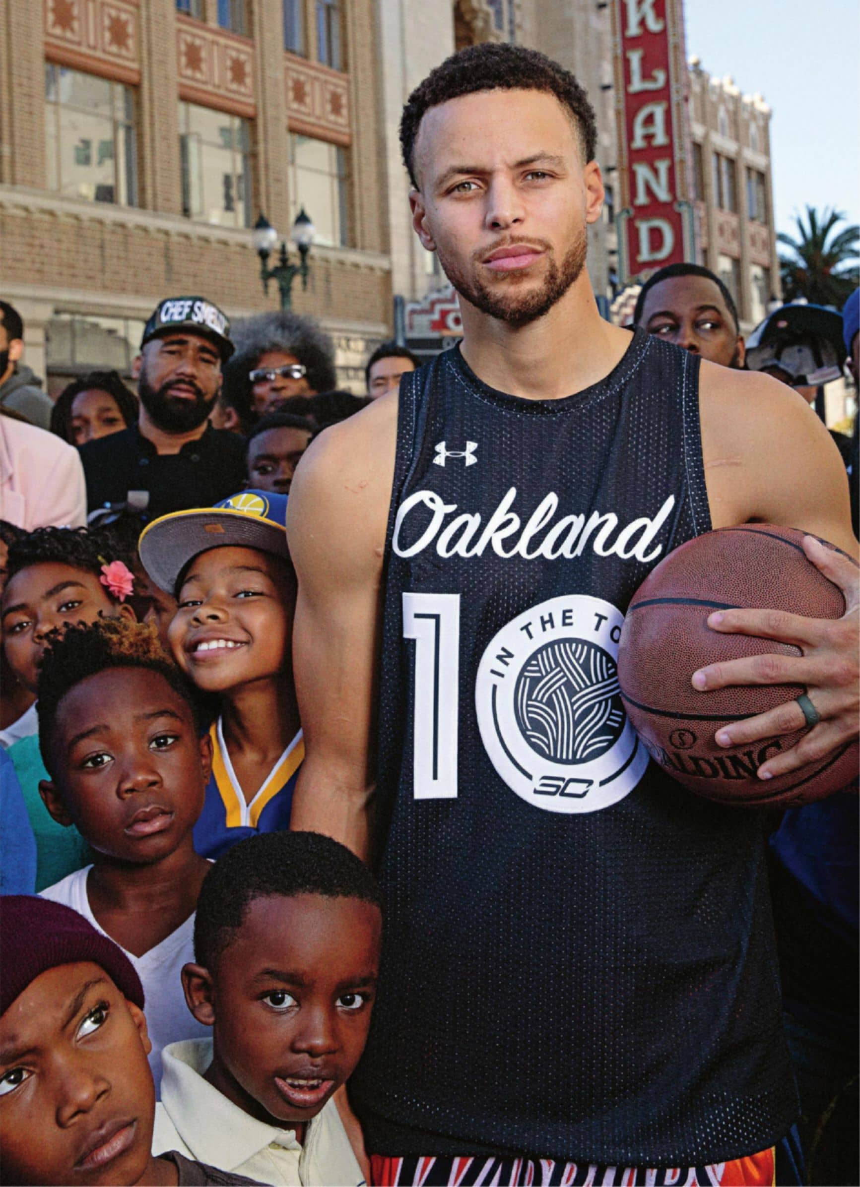 Stephen Curry, Heart Of The Town