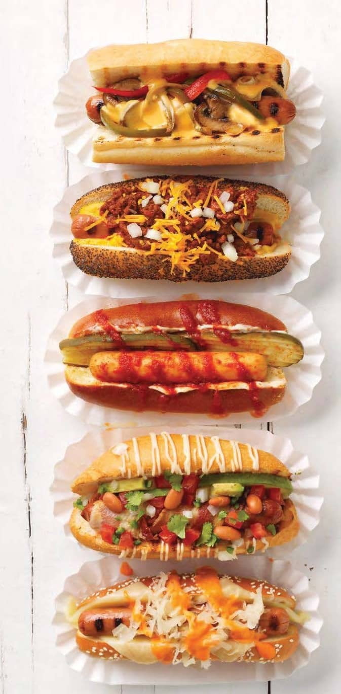 Laid-Back Burgers-And-Dogs Cookout