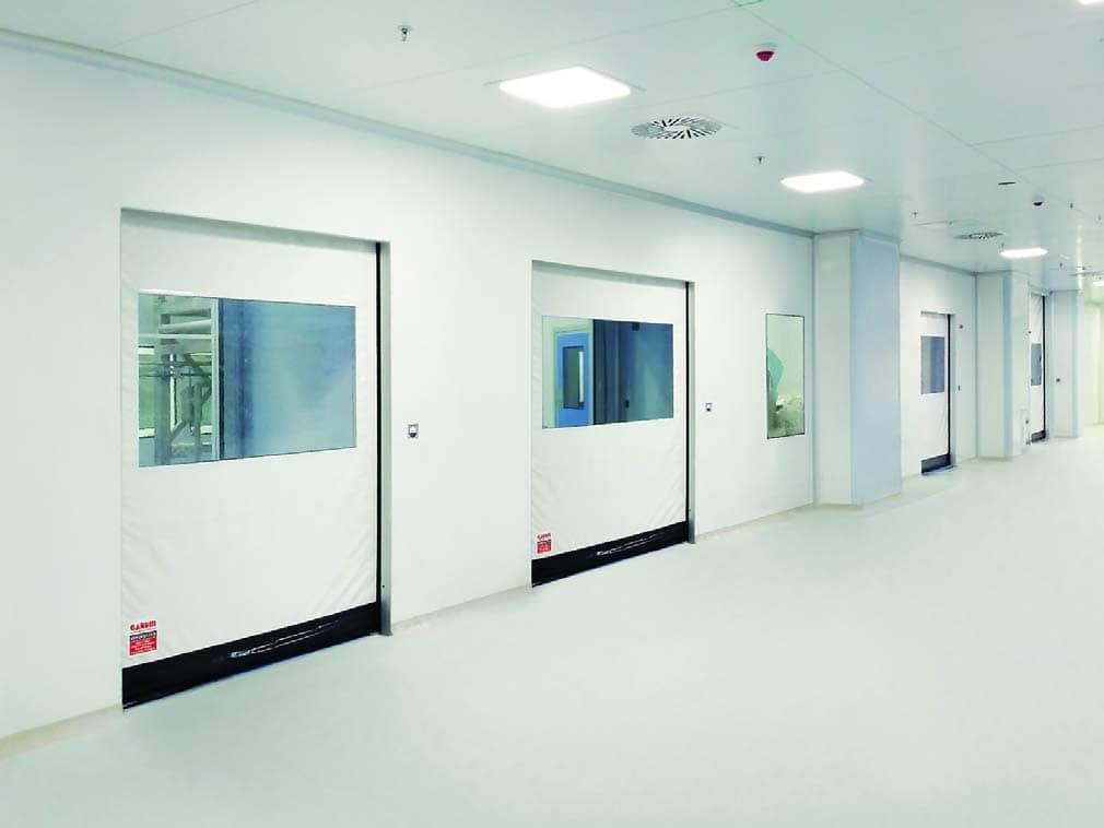 Gandhi Automations PCR Clean Room Doors Provide Optimum Solution