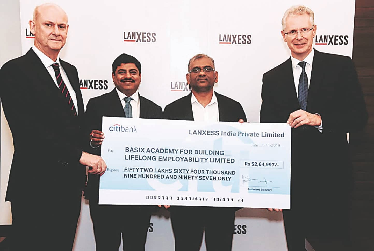 LANXNESS India Adds To Employability Through Its Vocational Skill Centre