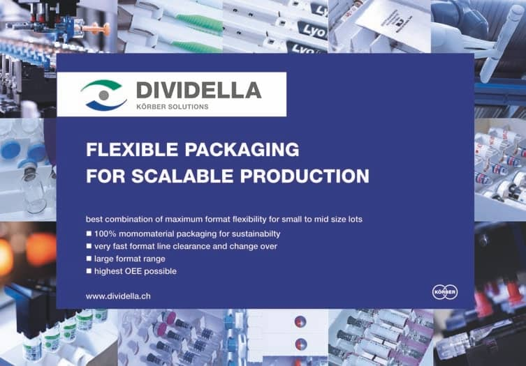 Dividella Embraces Sustainability With Flexible Design And 100 Per Cent Monomaterial Capabilities