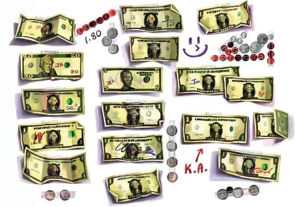 The Multiplying Dollar