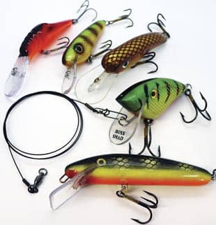 Leaders For Short-Line Trolling With Shad Baits