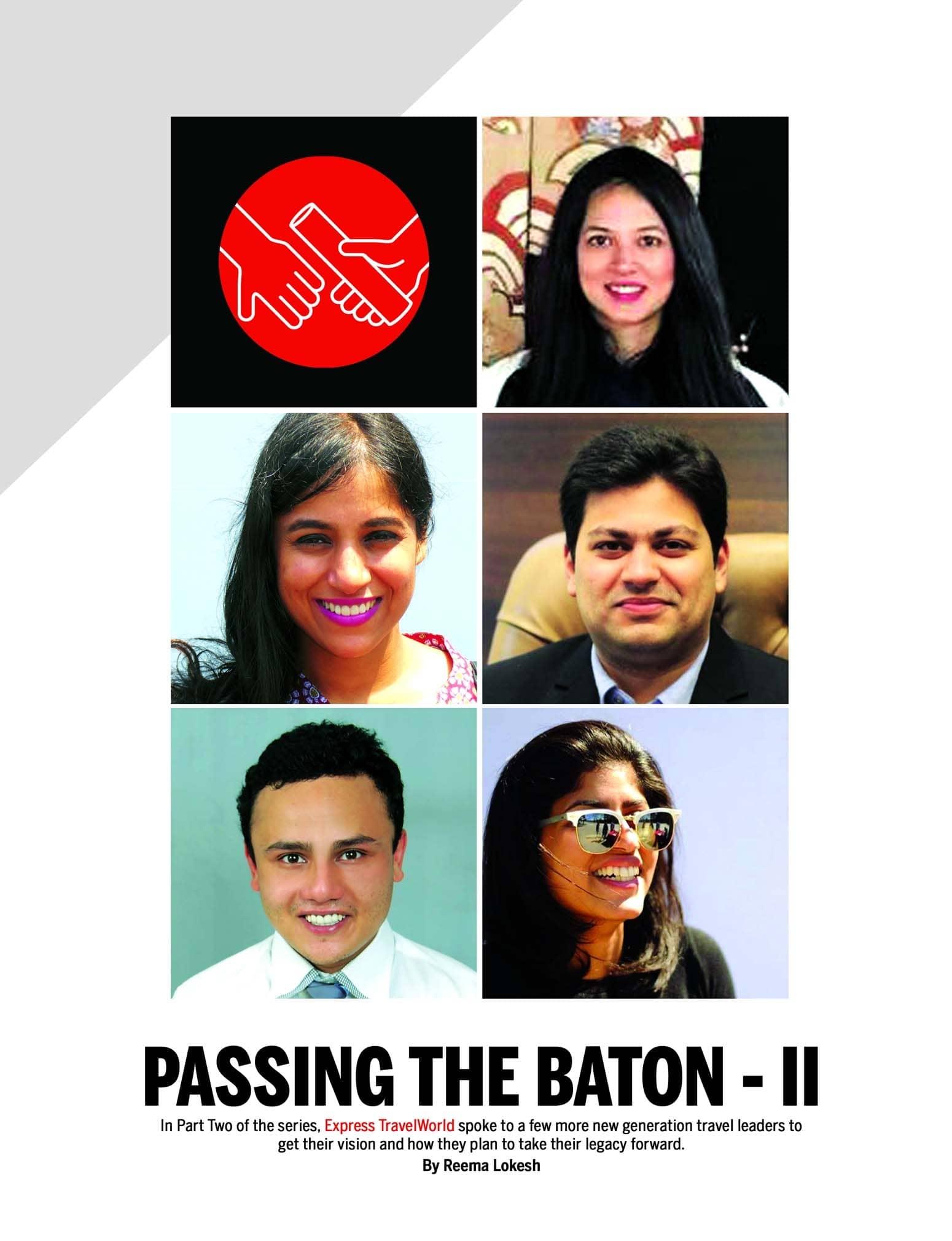 Passing The Baton - Ii