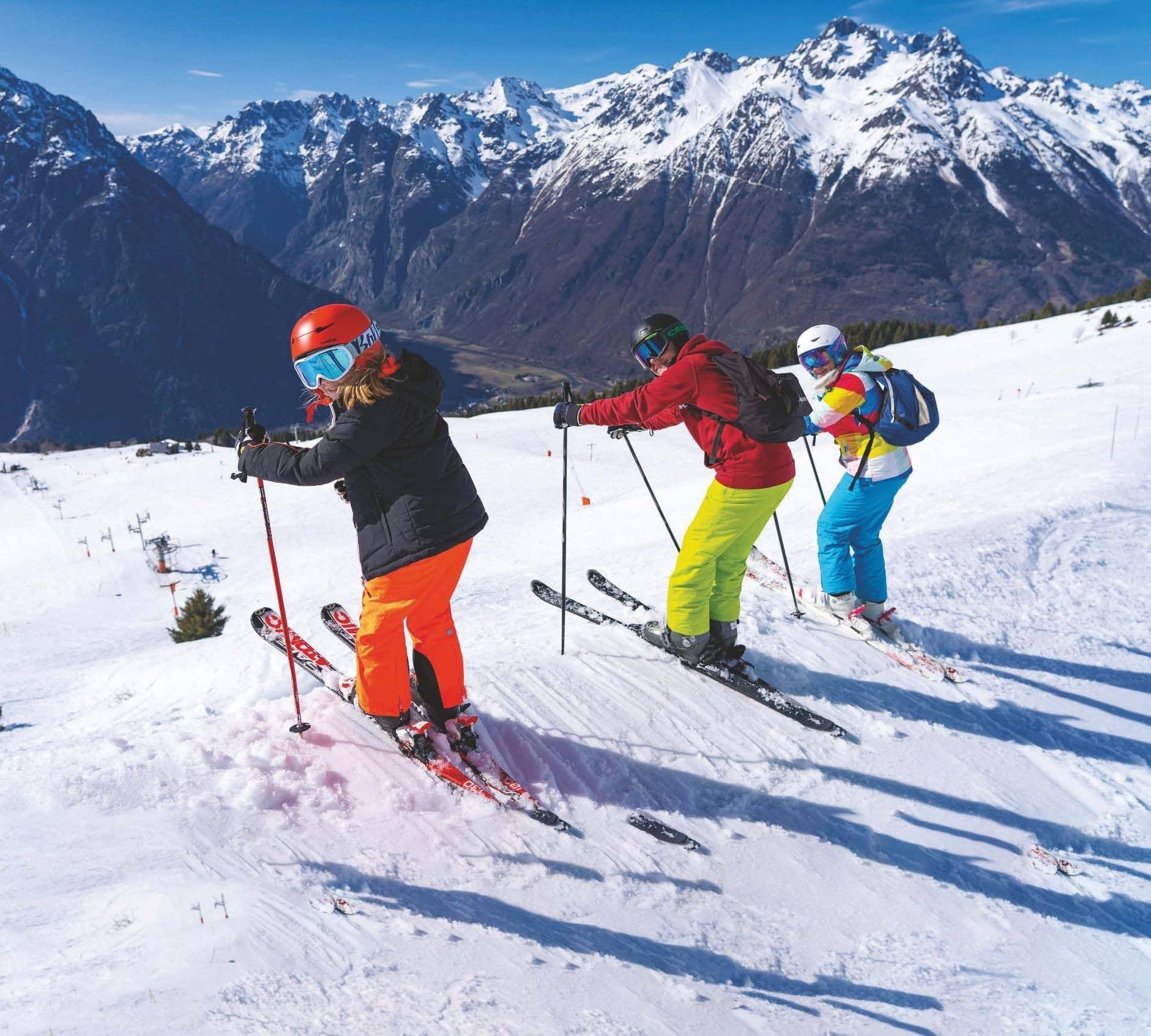 Take the family… on a ski trip