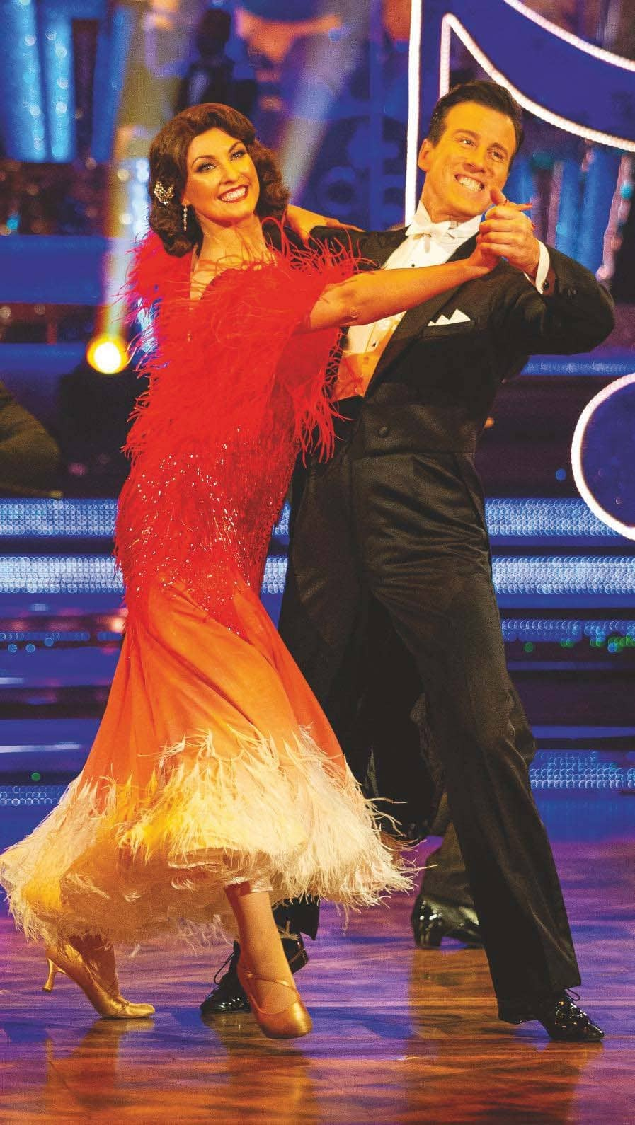'I never want to LEAVE STRICTLY!'