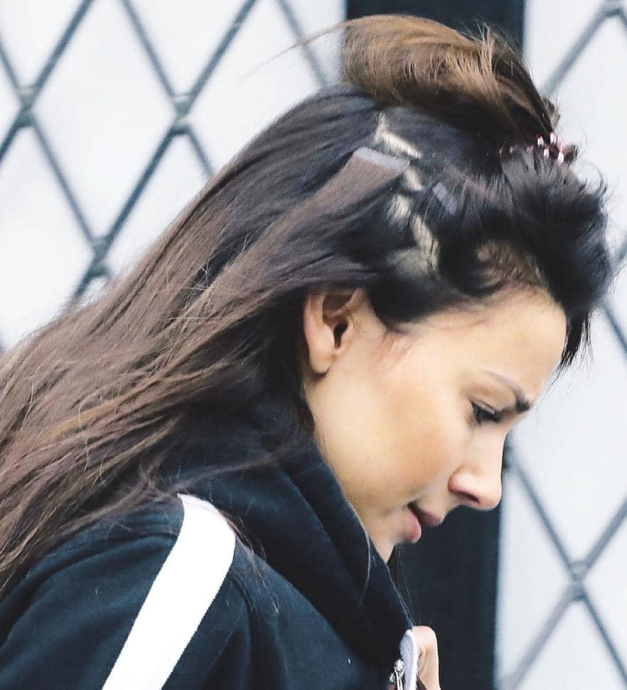 Michelle's Hair Extension Fail!