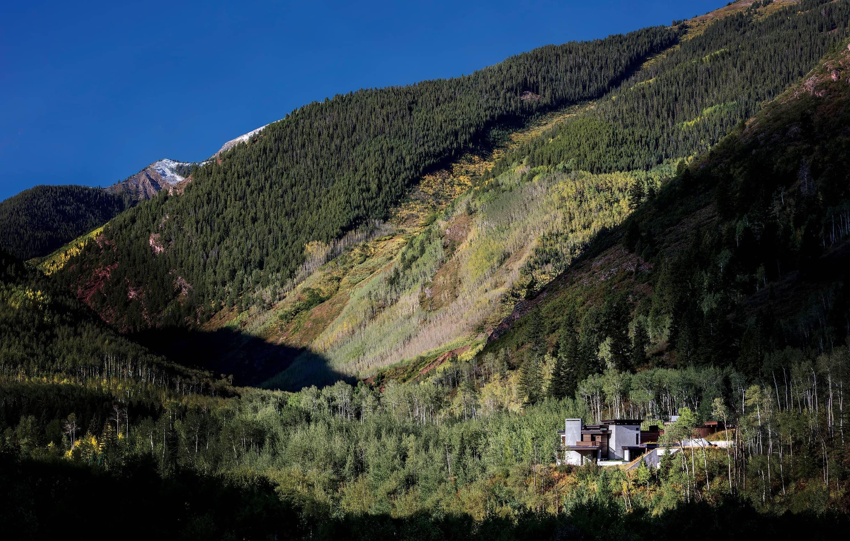 Tucked Away In Castle Creek Valley Colorado