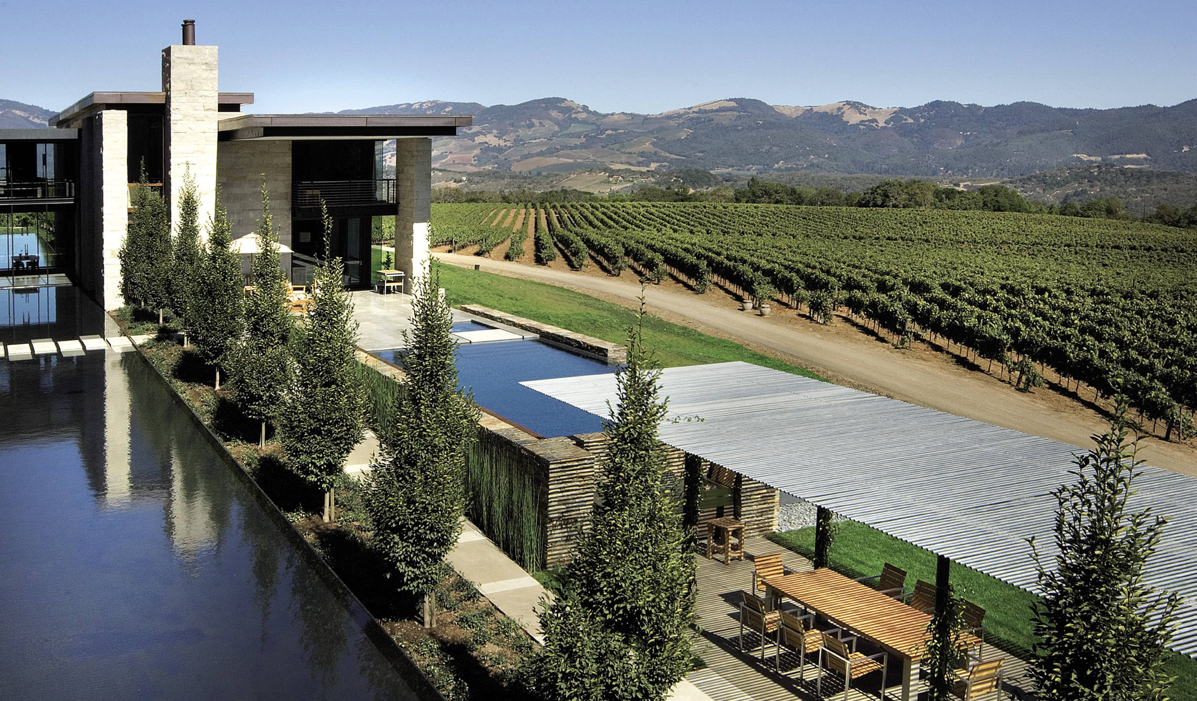 Vineyard Estate In The Sonoma Hills